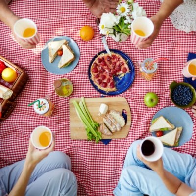 Have an Indoor Picnic
