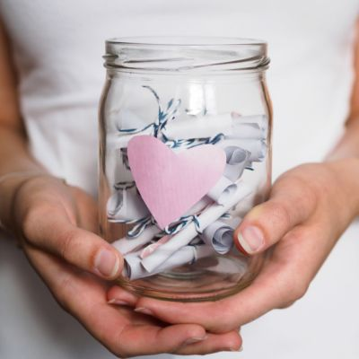 Create a Jar Filled with Date Ideas to Choose From